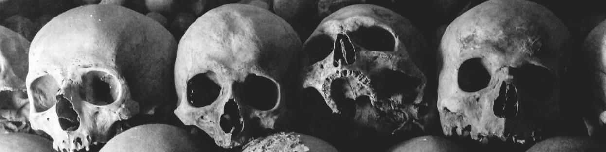 De schedels van de tegenstanders werden door de vikingen gebruikt om het familiespel Kubb mee te spelen!