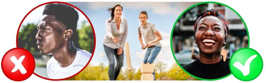 Kubb is het familiespel voor jong en oud waarmee je lachend, zonder zweet, je de hele vakantie kunt vermaken.
